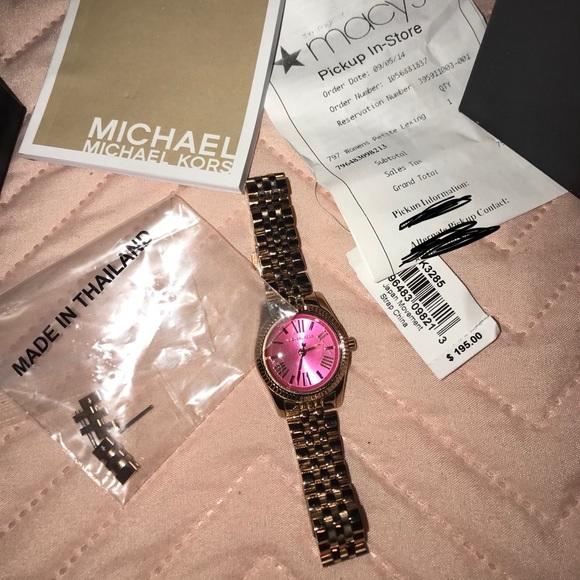 d4f2a79cb6d7 Michael Kors Petite Lexington watch - Rose Gold. M 5a40194545b30c9ea7014aaa